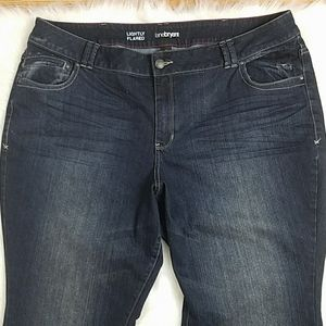 Lane Bryant Size 26 Petite Lightly Flared Jeans
